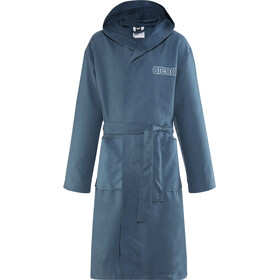 arena Zeals Bathrobe Kinder navy-white